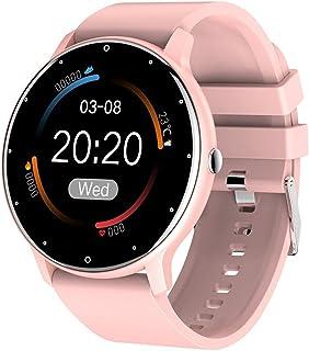 Smart Sports Bracelet Watch,Ip67 Waterproof,Men's and Women's Watch Touch Screen,Weather,heart Rate Monitoring Tracker,dig...