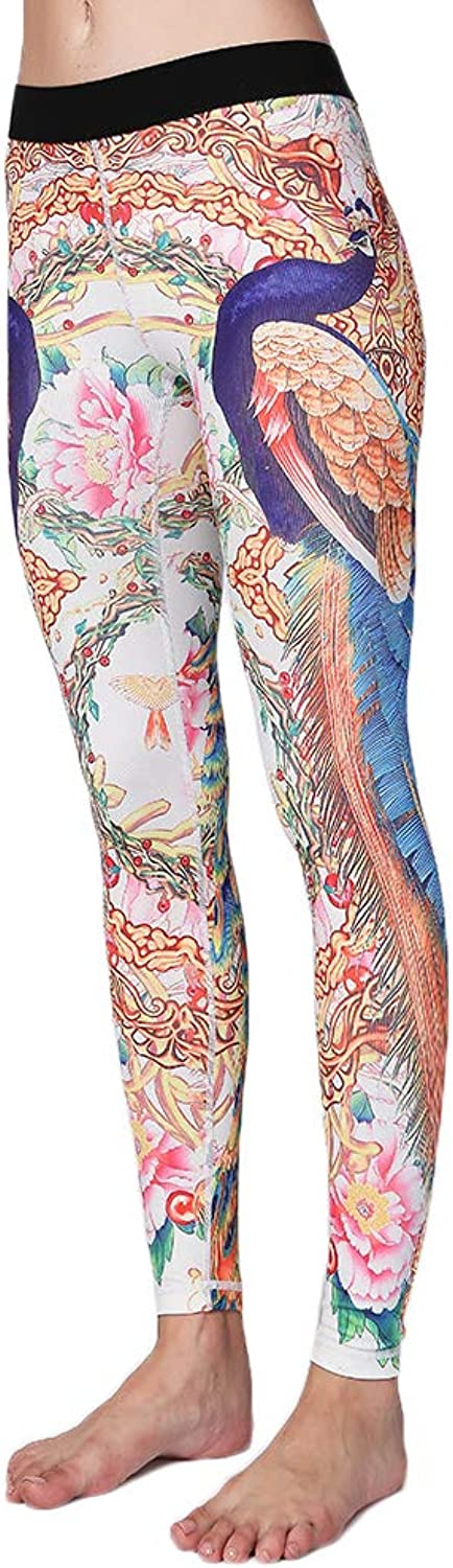 Hioinieiy Workout Printed Leggings Women High Waisted Patterned Womens Yoga Pants