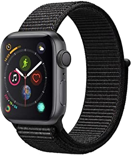 comprar comparacion Apple Watch Series 4 (GPS, 40mm) Aluminio en Gris Espacial - Correa Loop Deportiva Negro