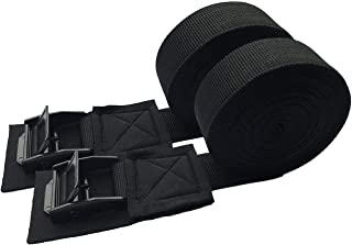12ft Tie Down Straps up to 800lbs MEYUEWAL One Stop Solution Lashing Straps Anchor Straps Kits with Stainless Steel Cam Bu...