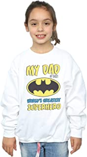 DC Comics Girls Batman World's Greatest Superhero Sweatshirt
