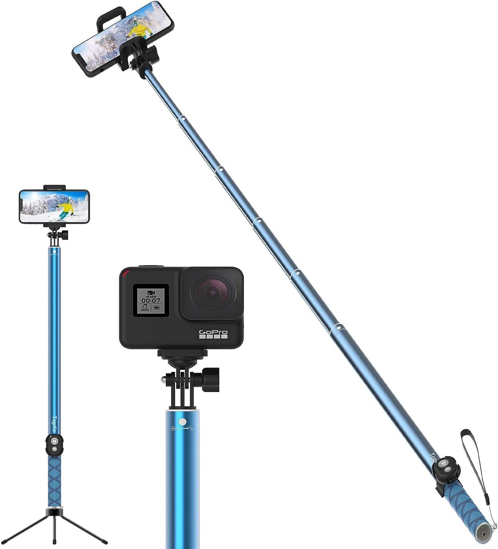 Extra Lang Bluetooth Selfie Stick, ausziehbar 20'' to 20 ...