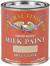 General Finishes QMI Water Based Milk Paint, 1 Quart, Millstone