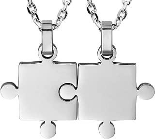 Best puzzle piece necklace Reviews