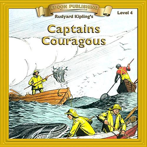 Couverture de Captains Courageous