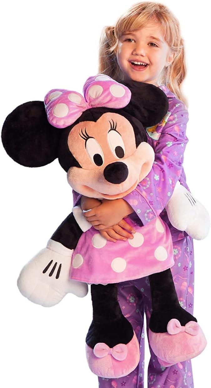Disney Store Large Jumbo 27 Minnie Plush Luxury goods Chara Stuffed Selling Toy Mouse