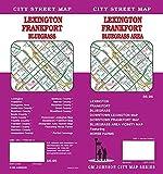 Lexington / Frankfort / Bluegrass Area, Kentucky Street Map