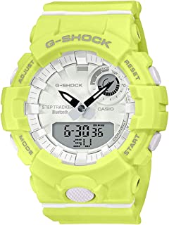 Casio G-Shock G-Squad Lime Green Bluetooth Midsize Womens Watch GMAB800-9A