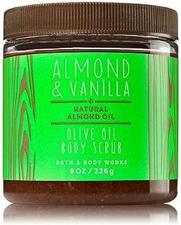 Bath & Body Works Olive Oil Body Scrub Almond & Vanilla