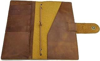 Camel Mega/Regular Weeks Cover for Hobonichi Planners Genuine Leather Agenda Organizer Diary