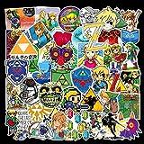 XZZ Rod Box Skateboard Notebook Graffiti Sticker Hand 47Pcs