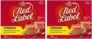 Brooke Bond Red Label Black Tea, 2 X 100 Teabags