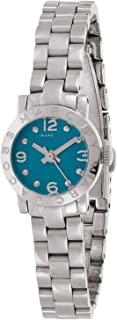 Marc by Marc Jacobs Women's Blue Dial Stainless Steel Band Watch - MBM3274