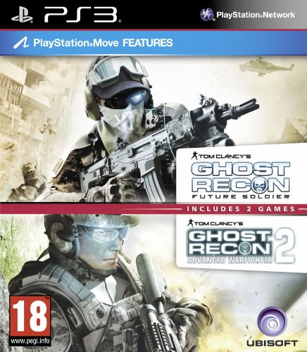 Tom Clancy's Ghost Recon Double Pack - Includes Ghost Recon Future Soldier & Advanced Warfighter 2 (PS3) [video game]