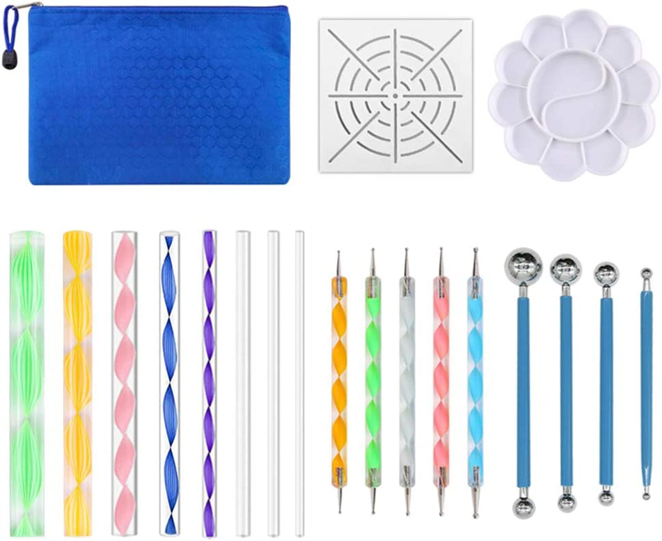 Giveme5 19PCS Dotting Tools for Painting Potte Polymer Rock Max Los Angeles Mall 57% OFF Clay