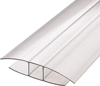IRONLUX Perfil cierre de policarbonato en forma de H | Junta