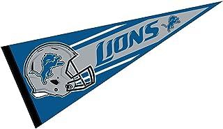"NFL Detroit Lions American Football Mini Pennant 9/"" x 4/"" FREE Shipping"