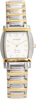 Casual Watch for Women by Accurate, Silver, Round, ALQ769