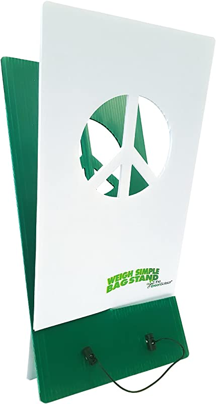 The Green Scissor Weigh Simple Bag Stand