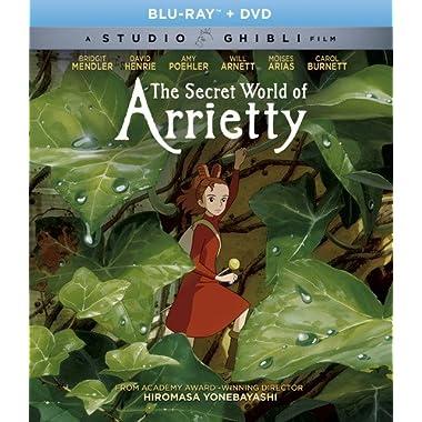 The Secret World Of Arrietty (Bluray/DVD Combo) [Blu-ray]