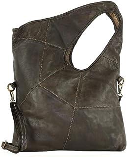 BZNA Bag Vegas schwarz Italy Designer Damen Handtasche Schultertasche Tasche Leder Shopper Neu
