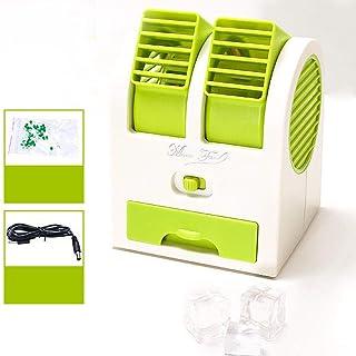 ANDE Mini Enfriador de Aire Aire Acondicionado móvil Ventilador eléctrico portátil Auto USB refrigeración hogar Dormitorio purificador @