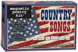 Magnetic Poetry - Country Songs Kit - Words for Refrigerator - Write Poems and Letters on The Fridge - Made in The USA