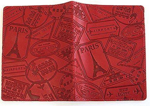 バンガード パスポートカバー レッド サイズ 約高さ14×幅20.6(cm)