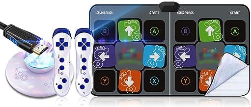 Dance Mat Pad Pads, Draadloze Double Somatosensory Game Machine Running Yoga Fitness (Color : 30mm c)
