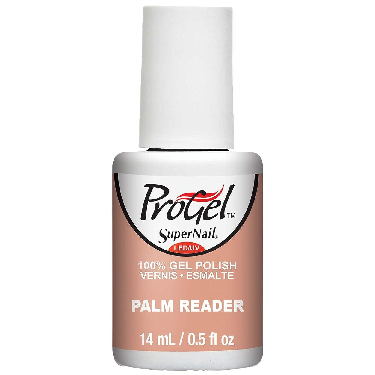 独占敬なネックレスSuperNail ProGel Gel Polish - Palm Reader - 0.5oz / 14ml