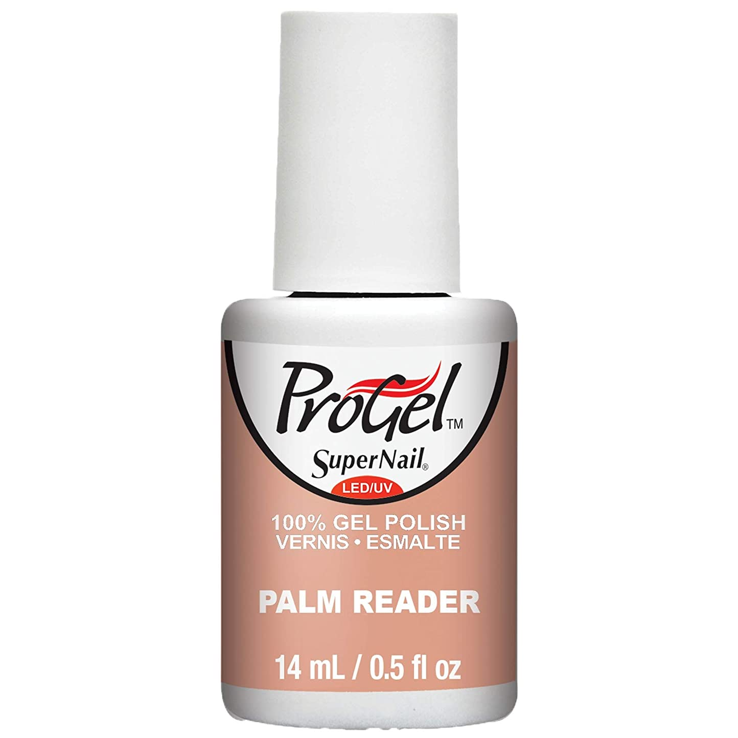 縁石コントロールサスペンションSuperNail ProGel Gel Polish - Palm Reader - 0.5oz / 14ml