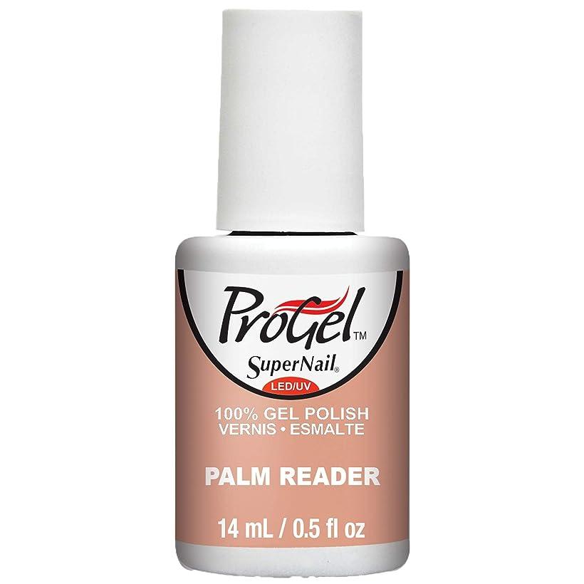 アライアンス居住者抑止するSuperNail ProGel Gel Polish - Palm Reader - 0.5oz / 14ml