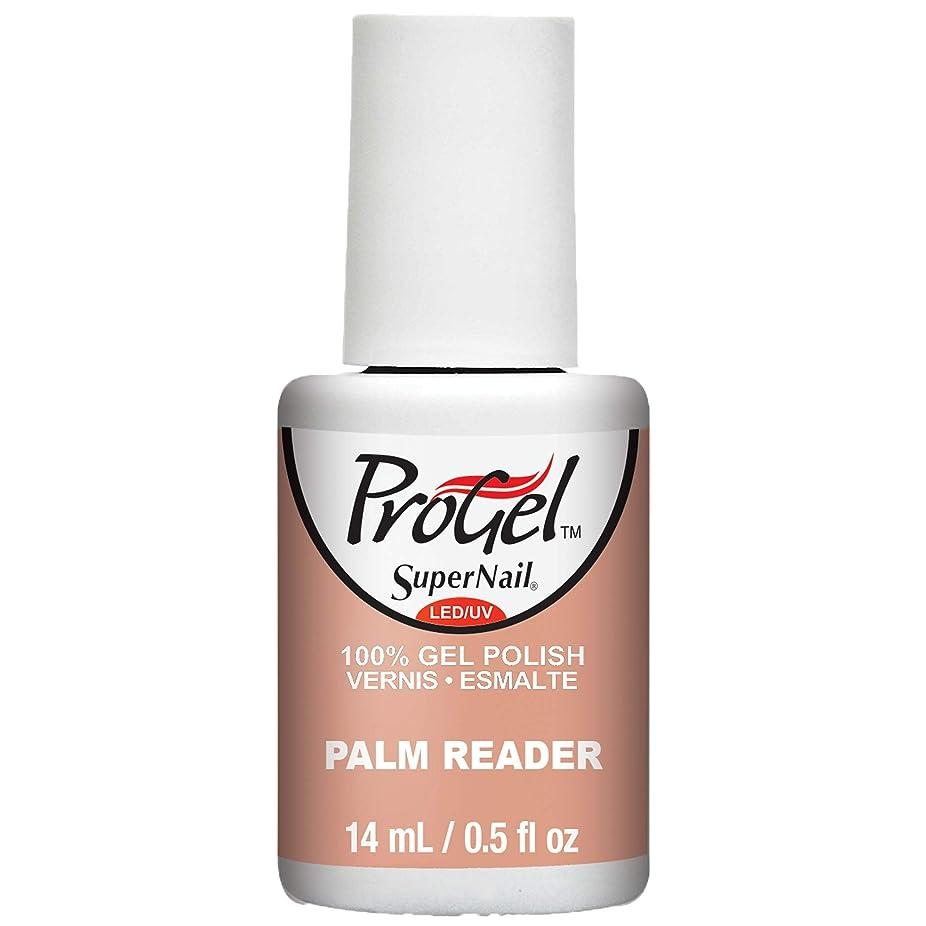 証拠抑圧者に変わるSuperNail ProGel Gel Polish - Palm Reader - 0.5oz / 14ml