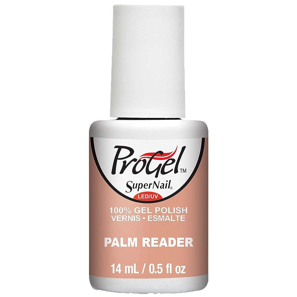 どこかシリング家主SuperNail ProGel Gel Polish - Palm Reader - 0.5oz / 14ml