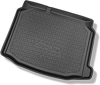 Regalo Cubre Maletero de Goma Compatible con Volkswagen Caddy Life Maxi Version 7 pasajeros 3/ª Fila de Asientos Plegable Desde 2007 + Limpiador de Plasticos
