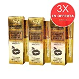Hollywood Lip Volumizer, 3x volumizzante labbra al veleno d'ape, lucidalabbra prima e...