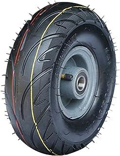 YJJT Rubber wielen, Pneumatische band, Lager binnendiameter 20mm, Wieldikte 80mm, Stalen wielkern, Belasting 250kg per ron...