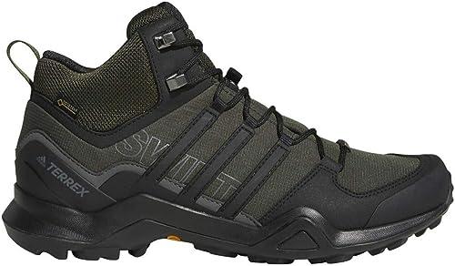 Adidas outdoor Men& 39;s Terrex Swift R2 Mid GTX Night Carbon noir Base vert 11 D US D (M)