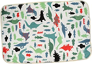 Prettyia Change Pads Covers Reusable Baby Diapers Mattress Bedding Waterproof Sheet Mat - Dinosaur, 90x60cm
