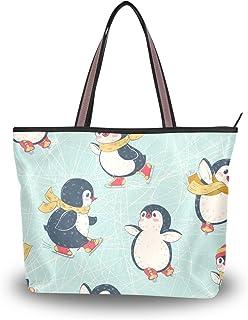My Daily Damen Schultertasche, Pinguine, Handtasche