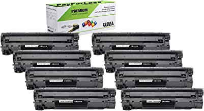 PayForLess 85A CE285A Toner Cartridge Black 8PK Compatible for HP Laserjet Pro P1102 P1102W P1102WHP M1132 M1210 M1130 M1212NF M1217nfw Canon LBP6000 MF3010 with Chip