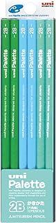 三菱鉛筆 かきかた鉛筆 ユニパレット 2B パステルグリーン 1ダース K55622B