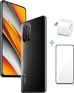 Xiaomi POCO F3 5G グローバル版 (8GB+256GB) SIMフリー スマートフォン本体 120Hzリフレッシュレート 6.67 inch 33W急速充電 DCI-P3色域 側面指紋/AI顔認証 【変換アダプター/保護フィルム...