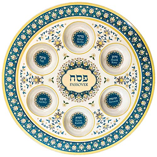 Seder Plate Stand for Passover Stainless Steel 5 Height 14 Diameter
