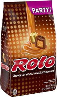 ROLO Chocolate Caramel Candy, Party Bag