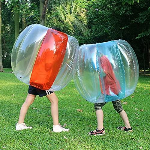 2 PC Bumper Ball, Inflatable Human Foam Ball Sumo Bumper Ball Toys, Durable PVC Vinyl Children's Adult Physical Outdoor Games