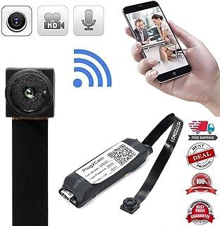 Mini cámara oculta espía 1080P portátil pequeña HD inalámbrica IP oculta perfecta cámara de seguridad cubierta para el hogar y la oficina