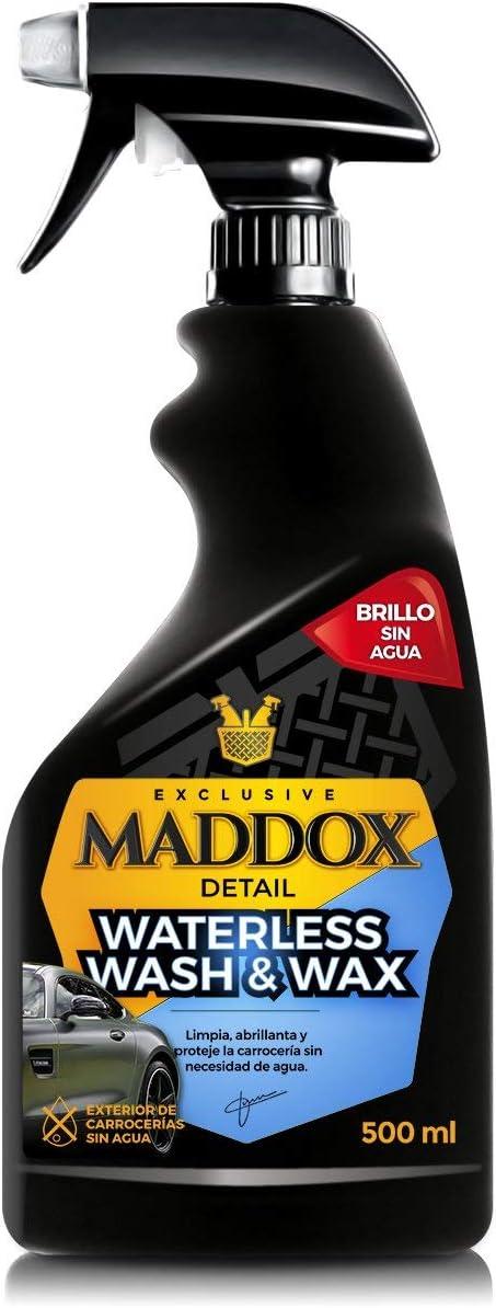 907 opinioni per Maddox Detail 10202 Waterless Wash & Wax-Cera Carnauba, Pulizia senz'Acqua per