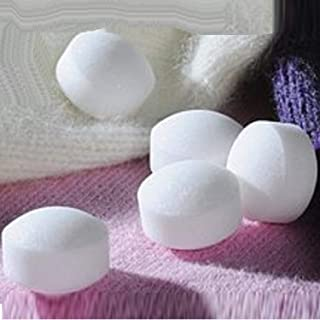 SaleOn™ Big Size Pure Quality Mothball Naphthalene Balls for Storing Clothing and Other Articles 420gm - Big Size Pure White