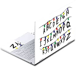 MightySkins Skin Compatible with Google Pixelbook - Stranger Alphabet | Protective, Durable, and Unique Vinyl Decal wrap Cover | Easy to Apply, Remove, and Change Styles | Made in The USA